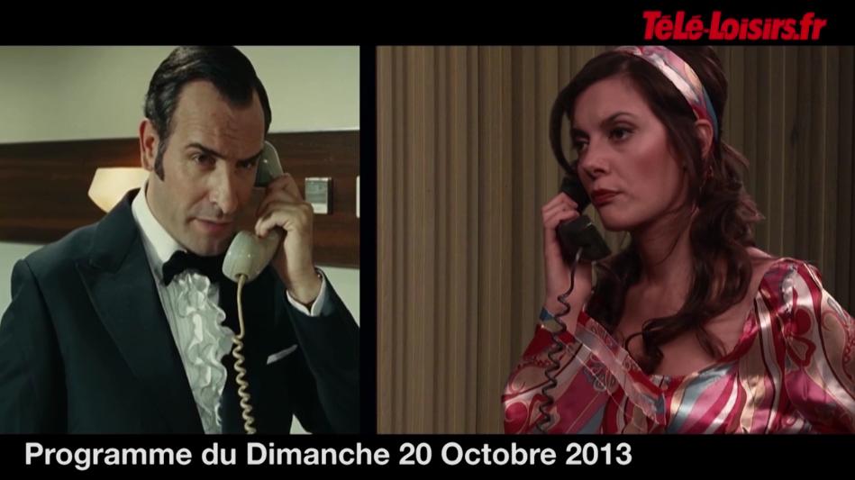 La Speakerine rejoue une scène d'OSS 117 avec Jean Dujardin (programmes du 20 octobre)