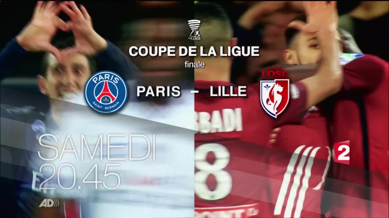 Coupe de la ligue paris sg l1 lille l1 - Coupe de la ligue programme tv ...