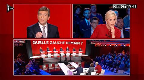 Tension entre Arnaud Montebourg et Laurence Ferrari à propos de la crise à iTELE