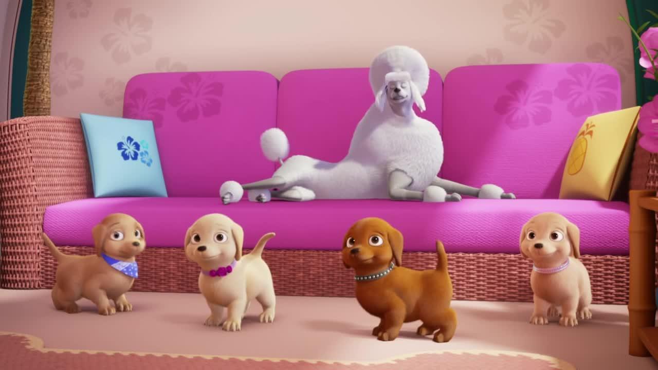Barbie et ses soeurs : la grande aventure des chiots - 14 avril