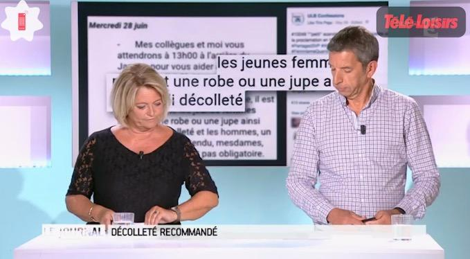 c36341d5fe31f Sur le point de faire une blague sexiste, Michel Cymès se fait recadrer par  Marina Carrère d Encausse - Programme-TV
