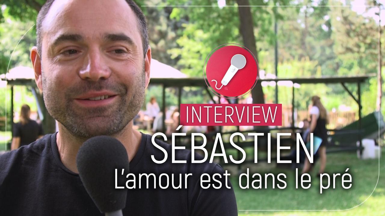 """Sébastien (L'amour est dans le pré) : """"j'étais curieux de voir qui pouvait s'intéresser à moi"""""""