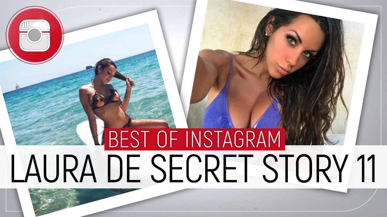 Selfies coquins, bikinis sexy et amitié avec Marie... Le meilleur de l'Instagram de Laura de Secret Story 11