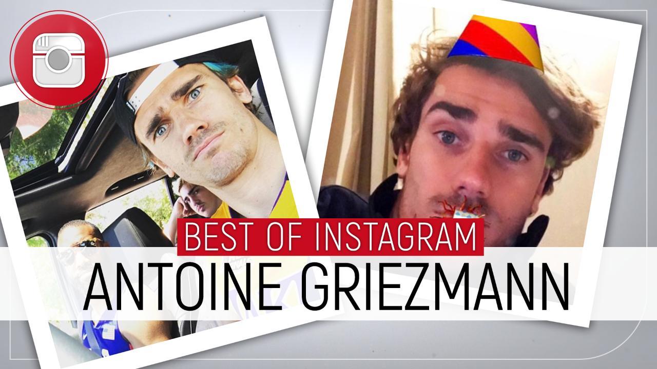 Famille, basket et looks improbables... Le best-of Instagram d'Antoine Griezmann