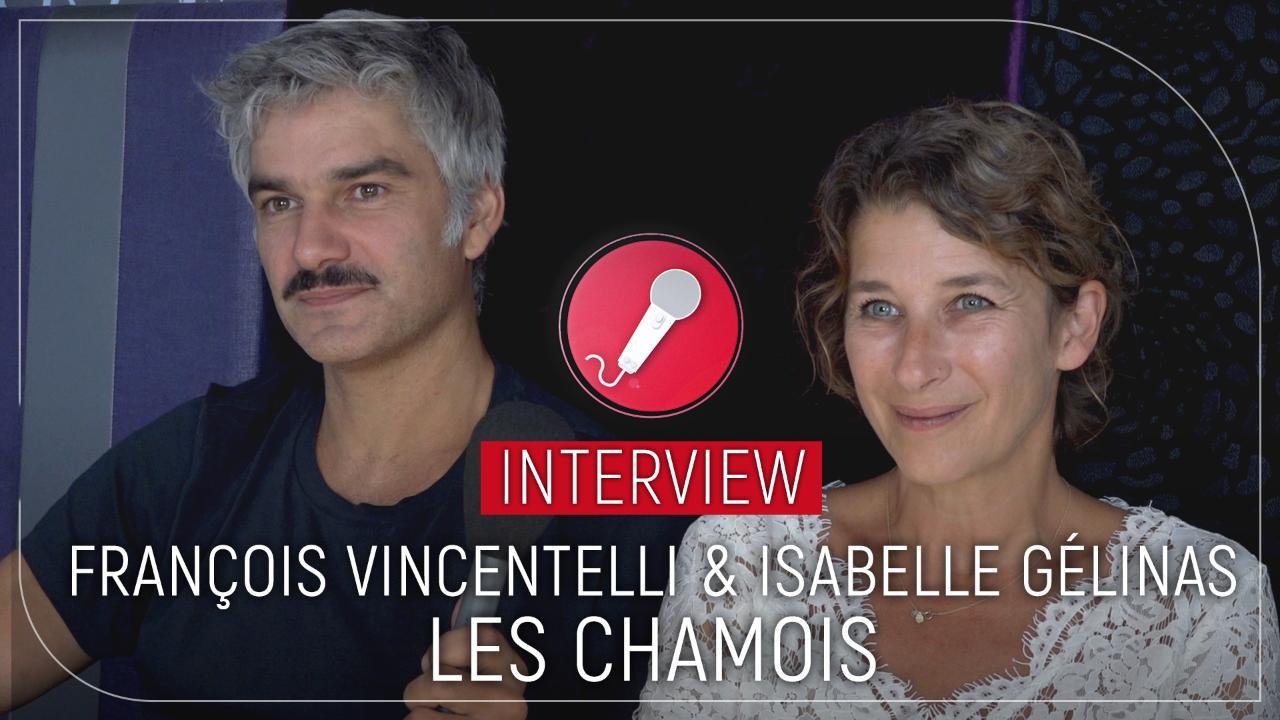 Les Chamois : manque de neige, clin d'œil d'Adamo, les Bronzés... Isabelle Gélinas et François Vincentelli racontent les coulisses de la série