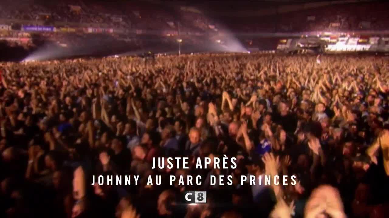 Johnny au parc des princes  - 7 décembre