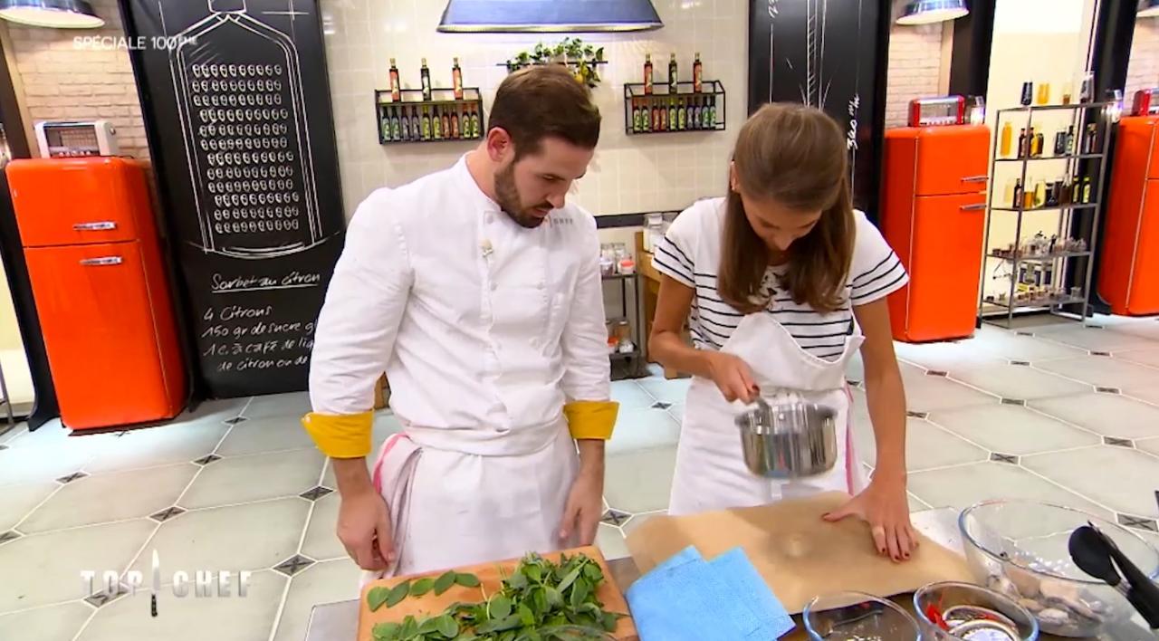Top Chef : Vincent craque pour les beaux yeux d'Ophélie Meunier