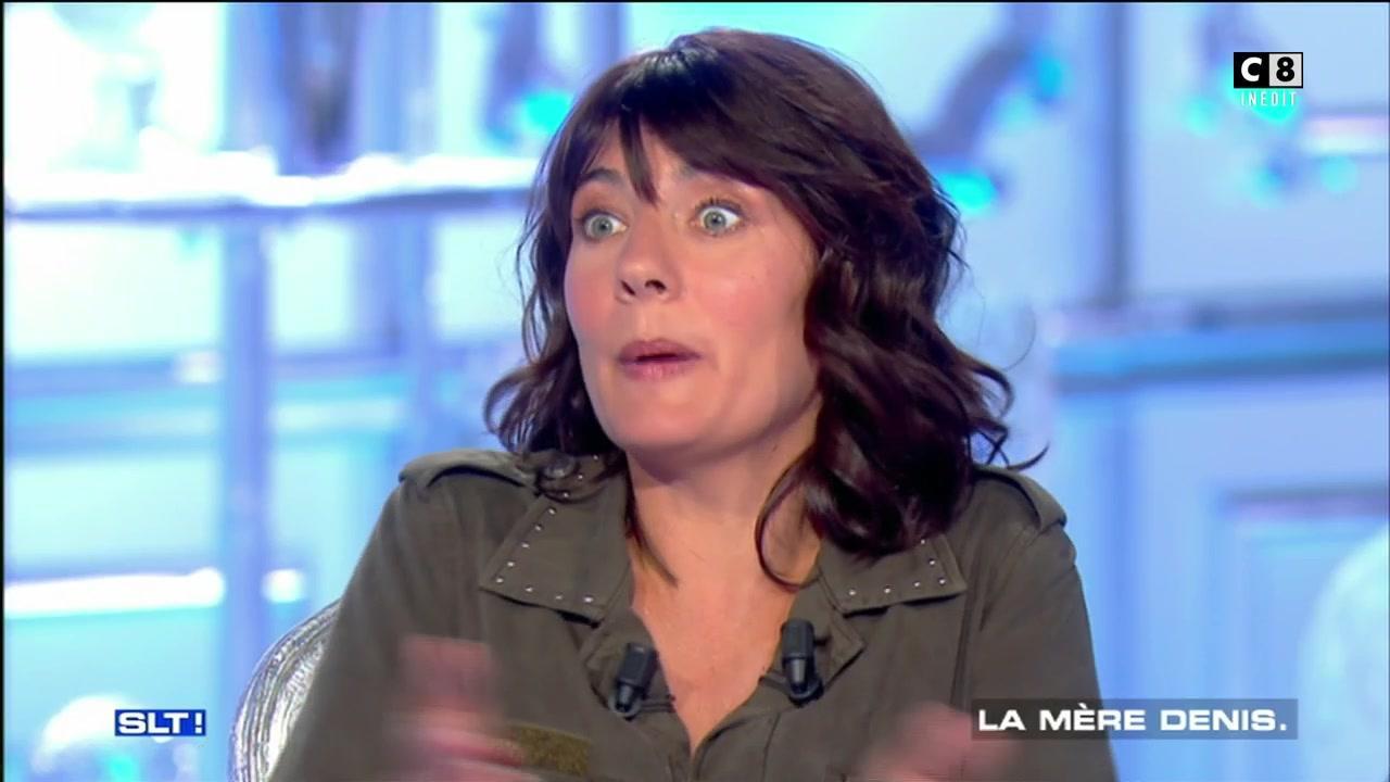 Estelle Denis vante les qualités de Raymond Domenech dans Salut ...