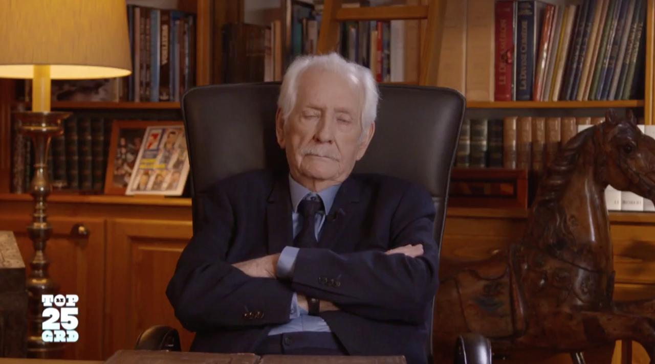 Une des dernières apparitions télé de Pierre Bellemare : quand il commentait les 25 ans de Groland en avril 2018 sur Canal+