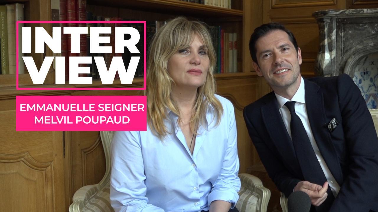 Insoupçonnable (TF1) : Emmanuelle Seigner et Melvil Poupaud se confient sur leur expérience