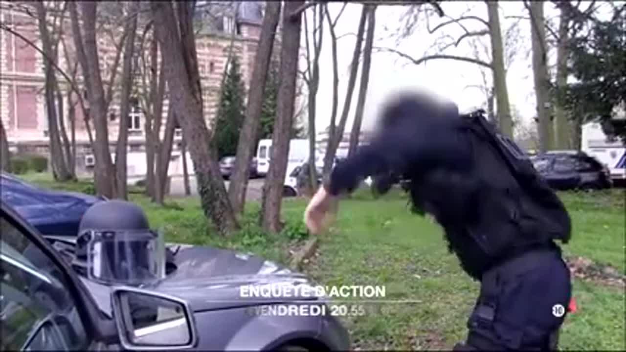 Enquête d'action : Les policiers d'élite de la BRI