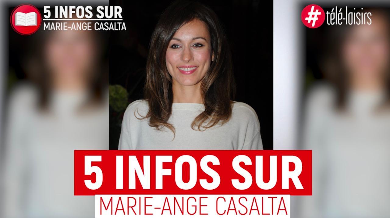 5 infos à connaître sur Marie-Ange Casalta