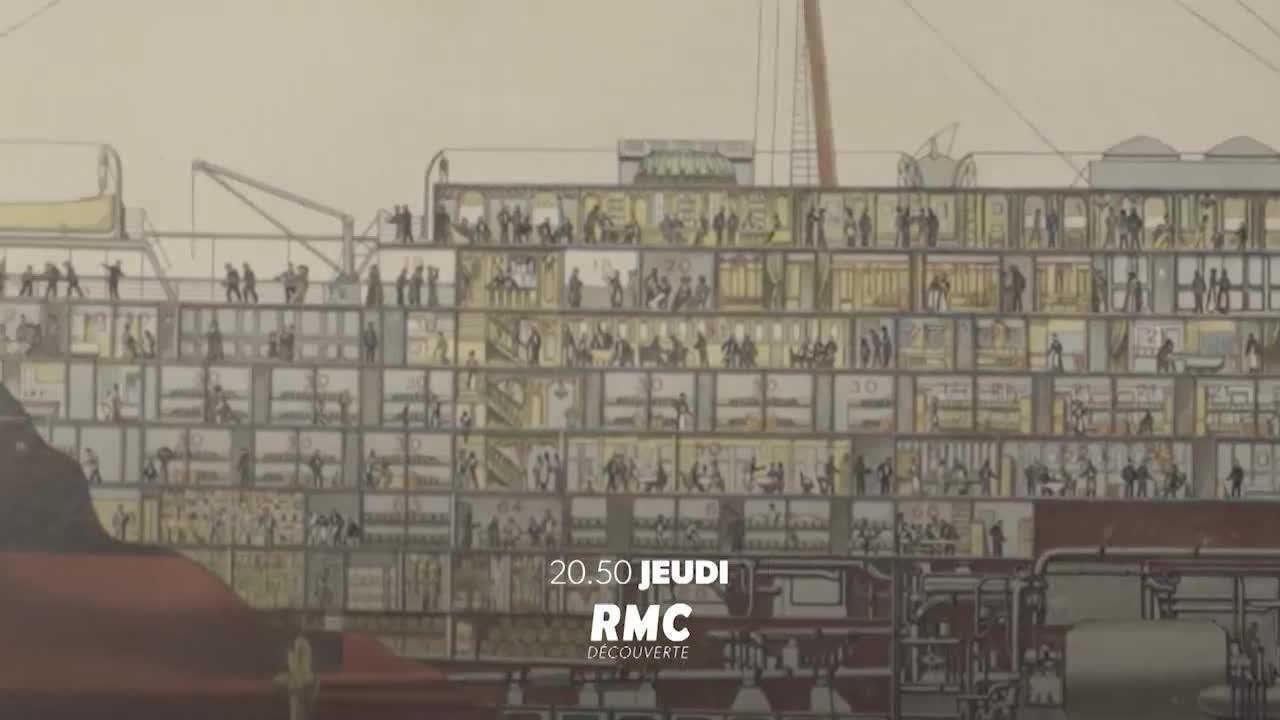 La légende des paquebots français - 8 novembre