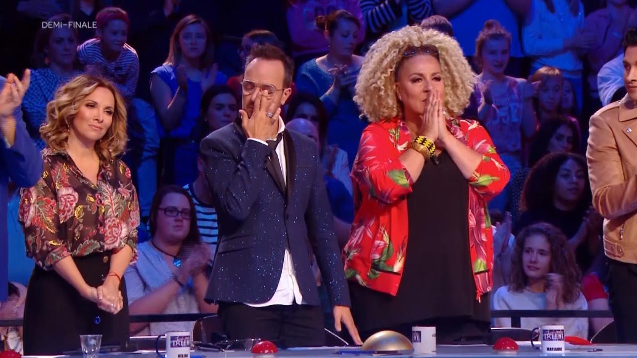 Exclu. La France a un incroyable talent 2018 : Nadia et Dakota bouleversent le jury en demi-finale